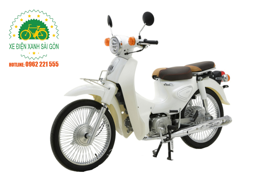XE CUB 81 ALLY NEW 50 – TRẮNG