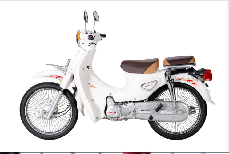 XE CUP 81 HALIM NEW 50CC – Trắng